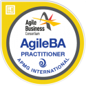 AgileBA Practitioner digital badge