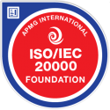 ISO/IEC 20000 Foundation digital badge