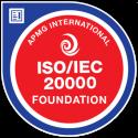 ISO/IEC 20000 Foundation digital badge
