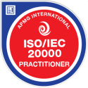 ISO/IEC 20000 Practitioner digital badge
