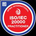 ISO/IEC 20000 Practitioner digital badge