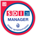 SDI Manager digital badge