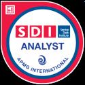 SDI Analyst Foundation digital badge