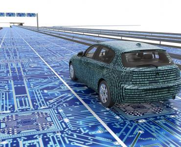 Big Data Announcement car