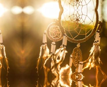 Dreamcatcher at dawn