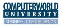 CWU Business IT Certification logo