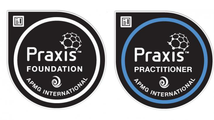 Praxis Foundation and Practitioner digital badges