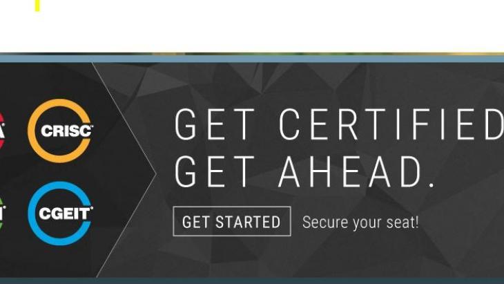 ISACA Certification banner