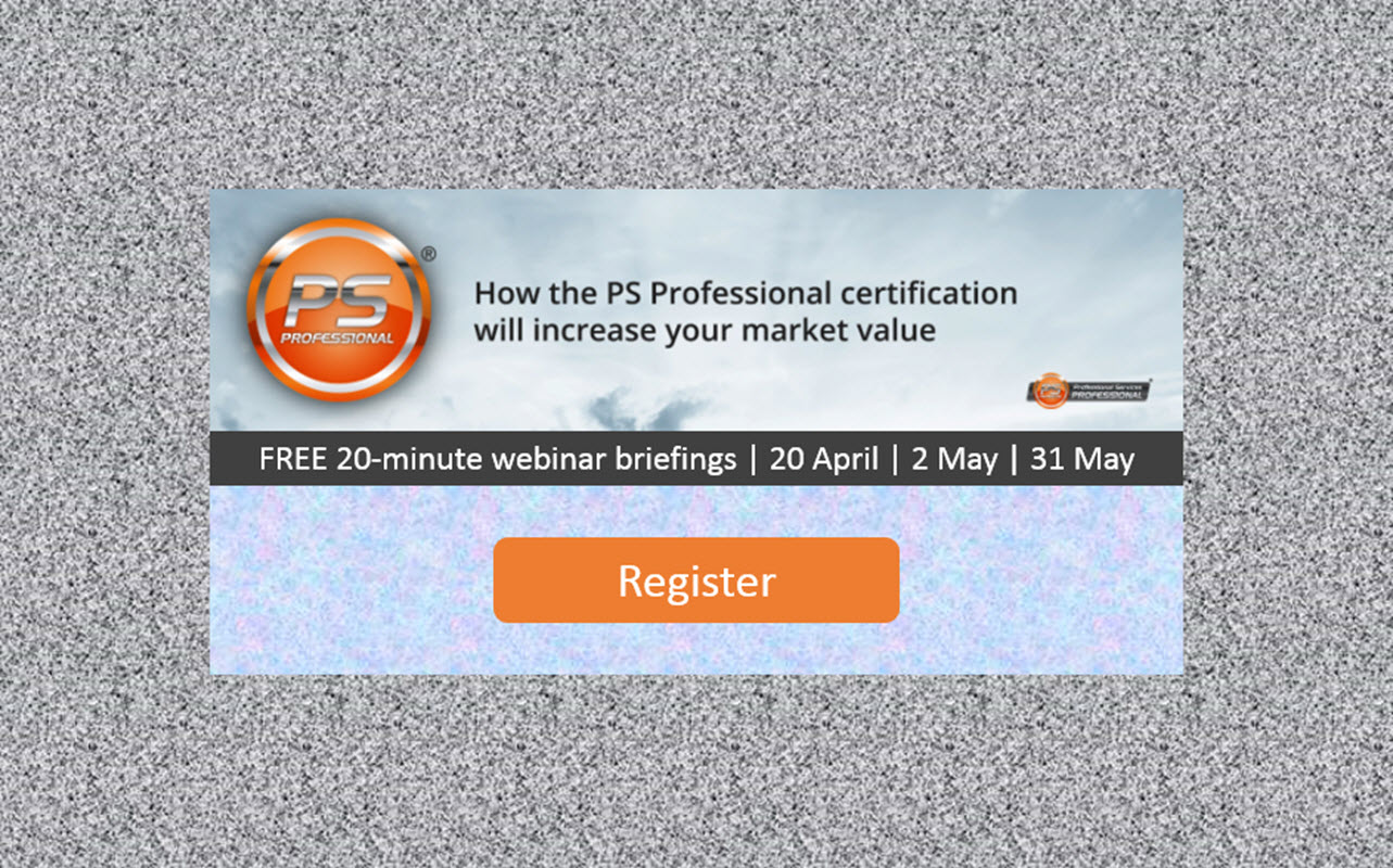 How the PS Professional certification will increase your