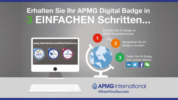 Share Your Success with an APMG Digital Badge in 3 EASY Steps | APMG ...